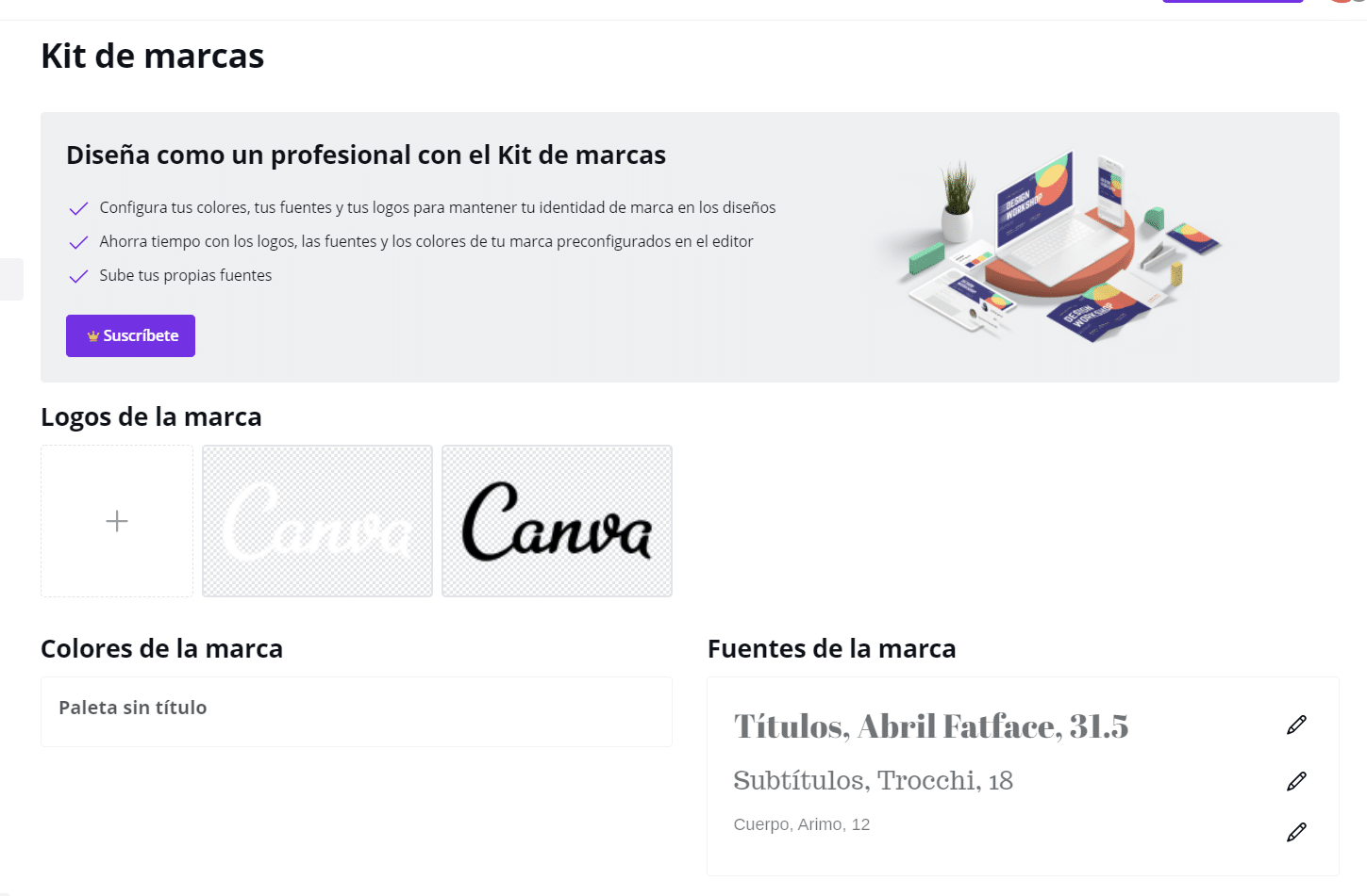 Tutorial de Canva 14: Kit de marcas
