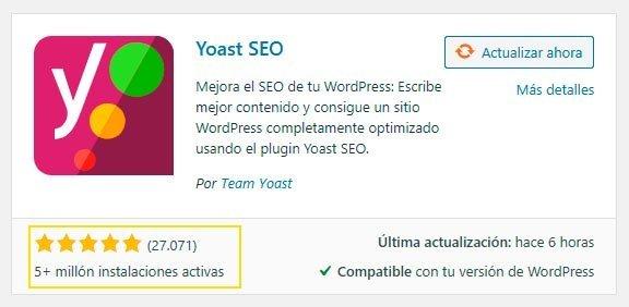 Instalar Configurar SEO on page con Yoast