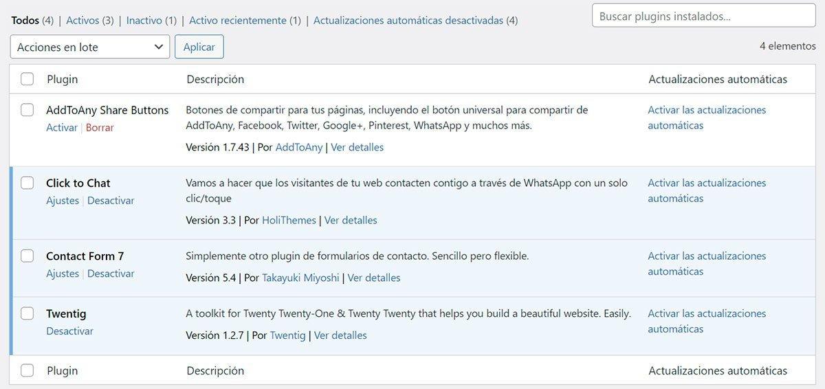 Instalar y configurar Click to Chat