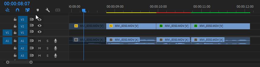 Aplicar efectos de vídeo en Premiere Pro