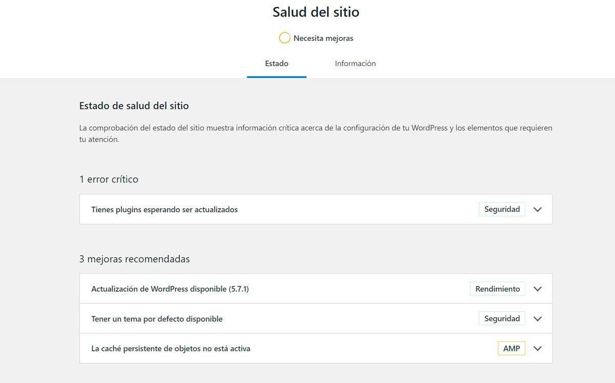 HACER COPIA DE SEGURIDAD Y ACTUALIZAR WORDPRESS