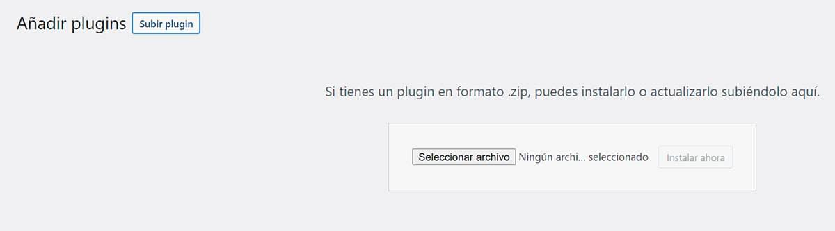 Descargar e instalar plugins en WordPress