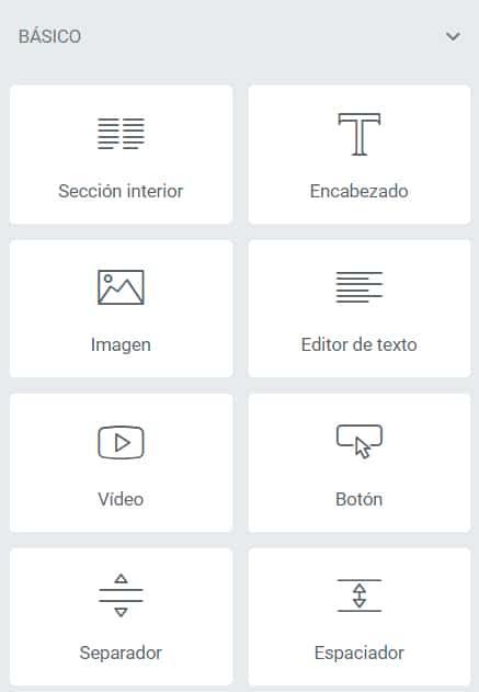 Editar página con Elementor en WordPress