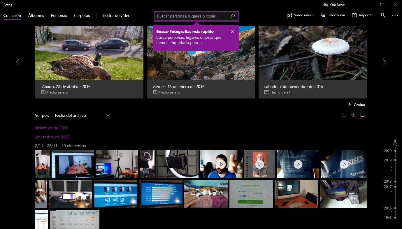 Editor de vídeos de Windows 10