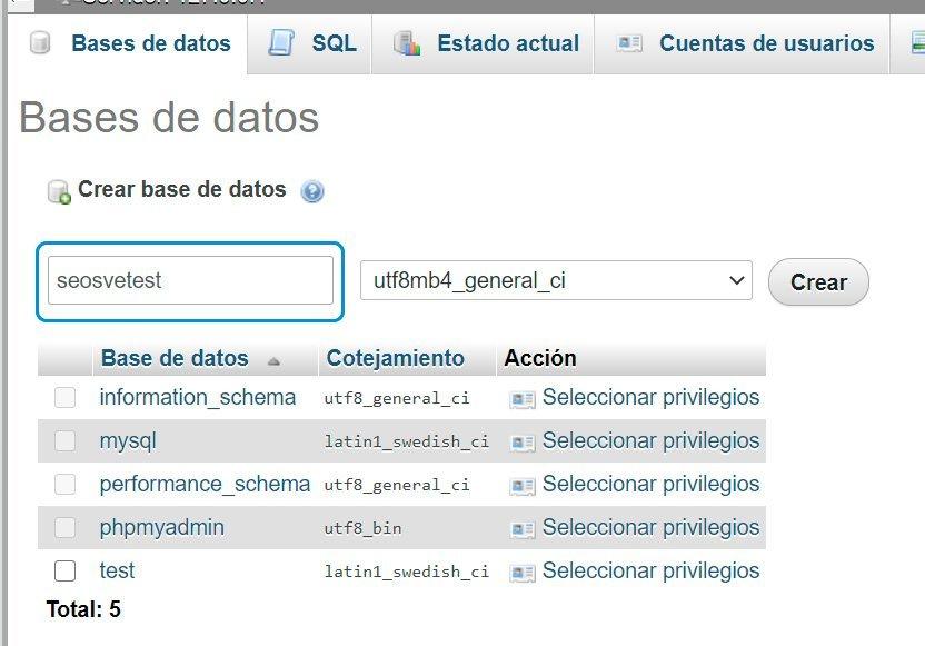 Instalar Wordpress en local