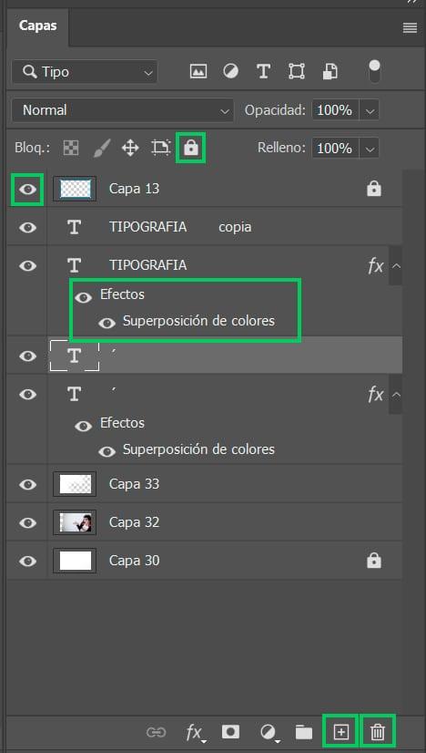 Photoshop: capas