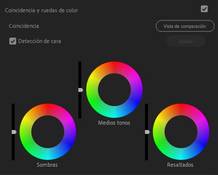 Retoque de color con Lumetri