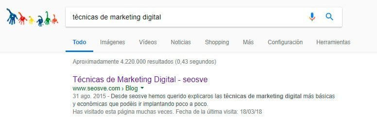 Técnicas de Marketing Digital