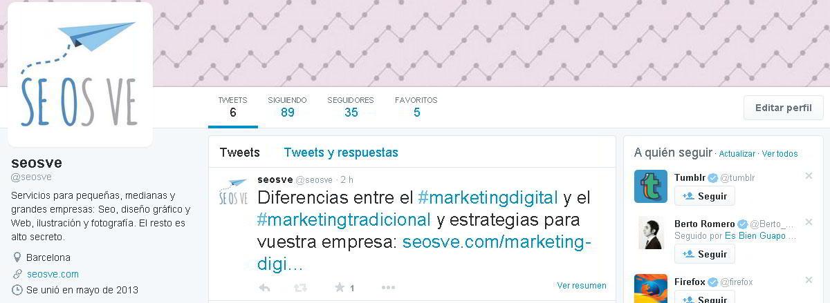 Marketing Digital en Twitter
