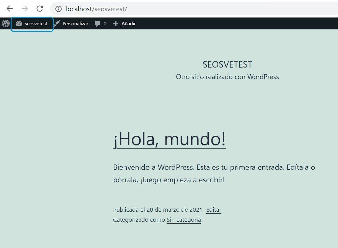 Wordpress desde 0